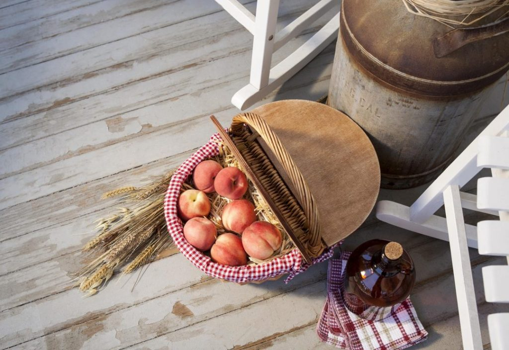 wicker picnic baskets