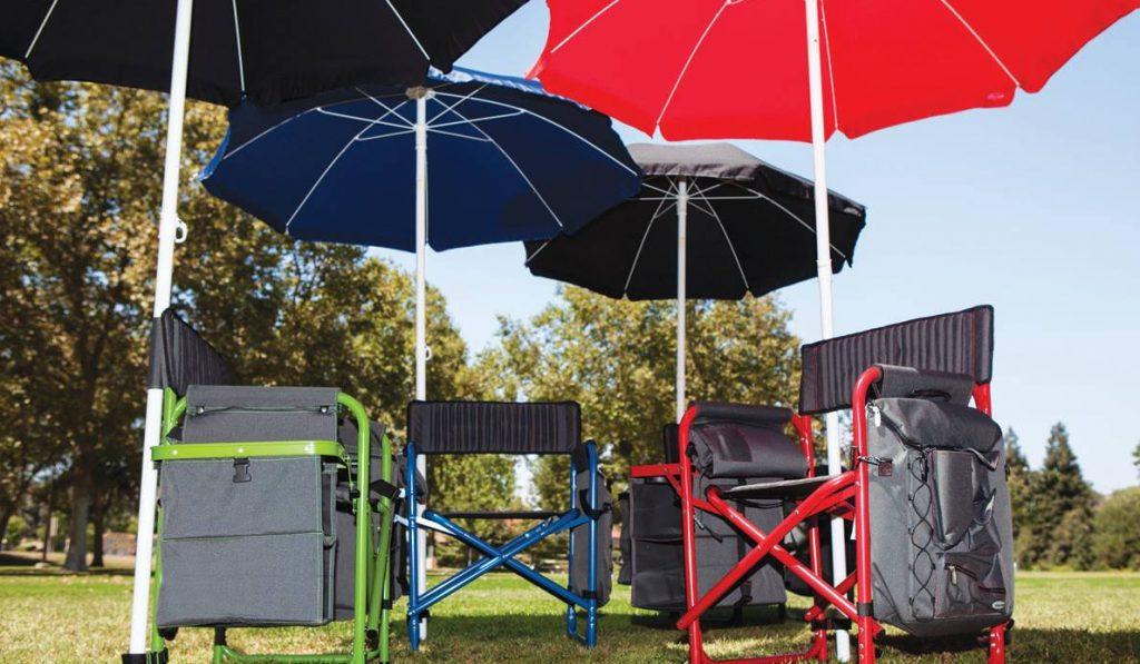 picnic umbrellas