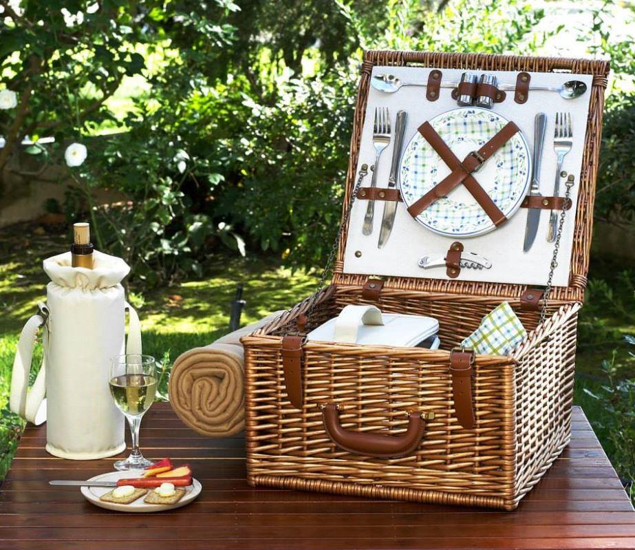 wicker picnic basket buy online