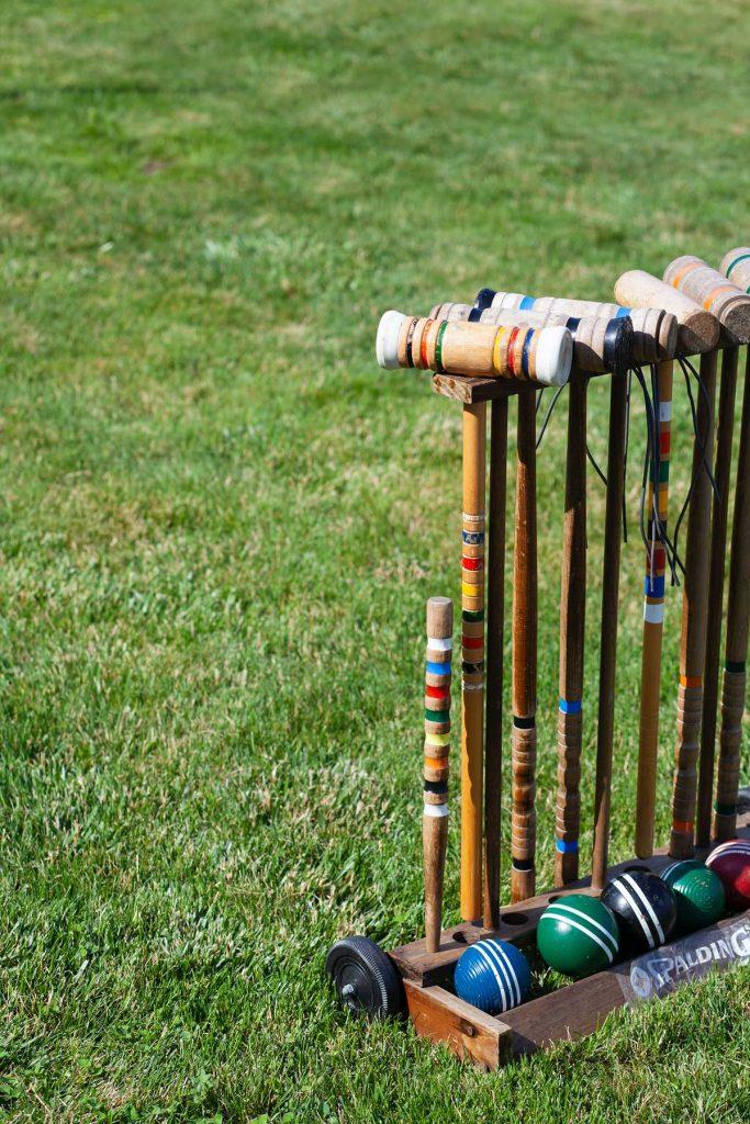 croquet game outdoor