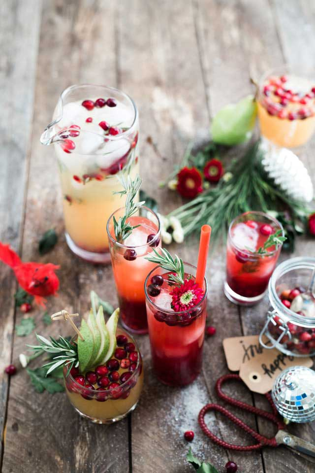 chilled mocktails