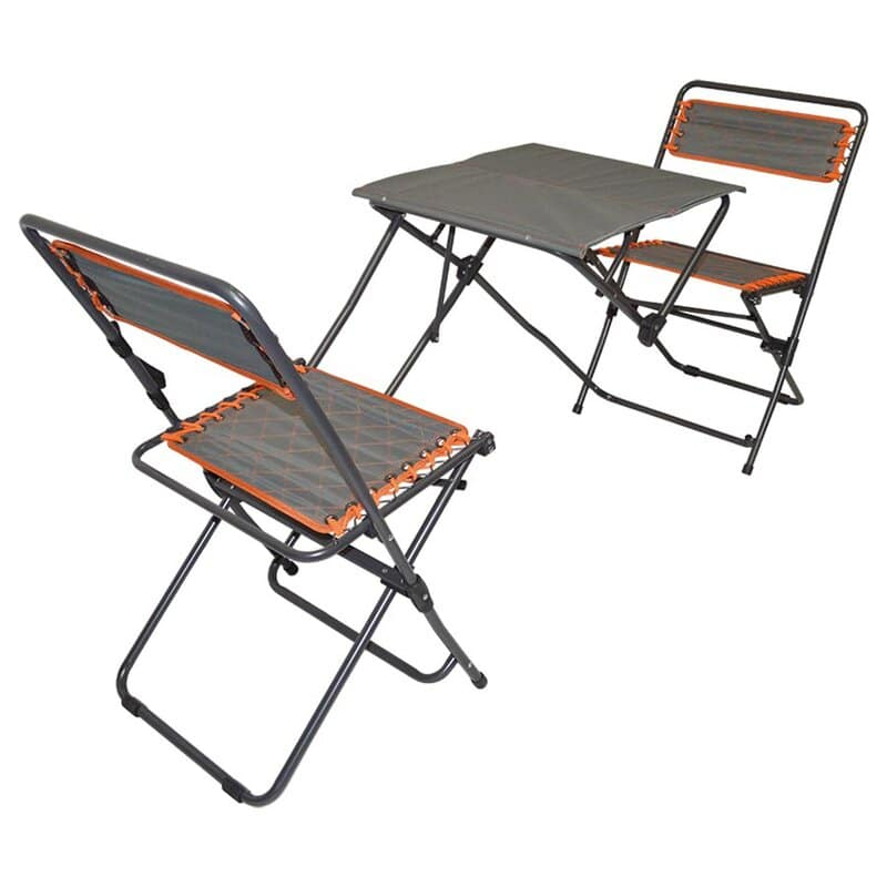 impact folding table for two
