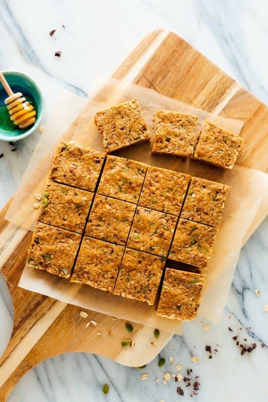 granola bars no bake dessert