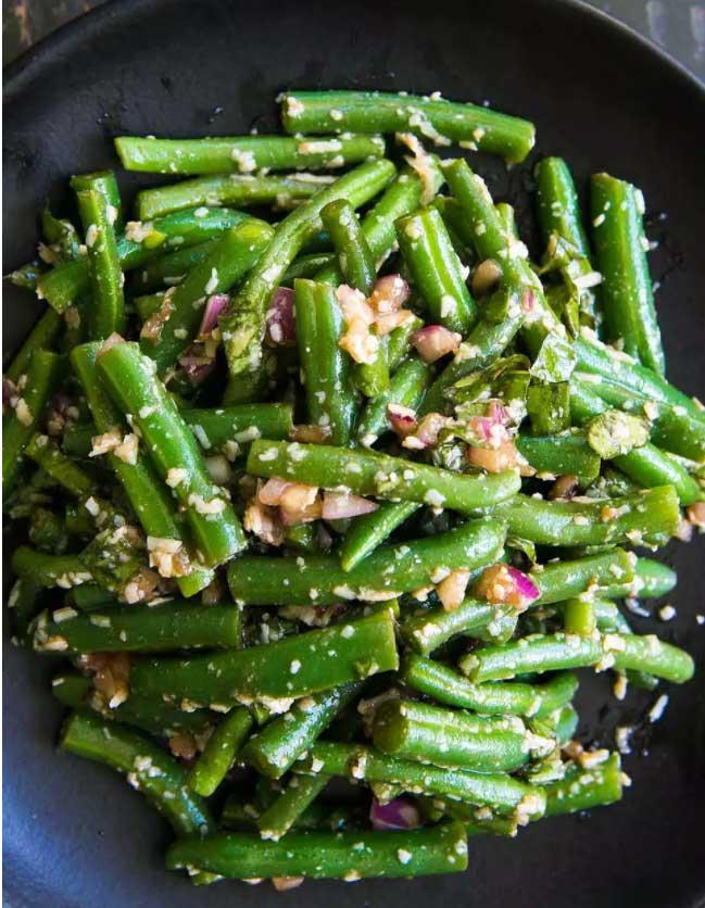 green bean picnic salad