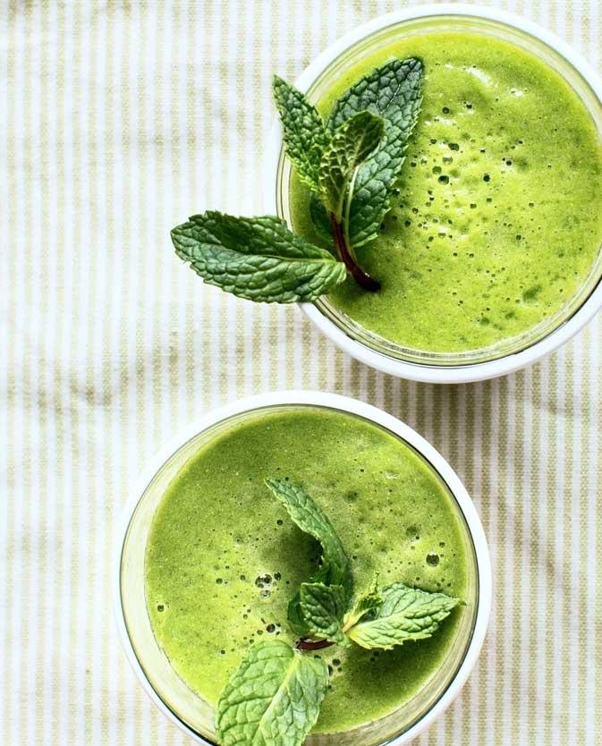 matcha green tea picnic