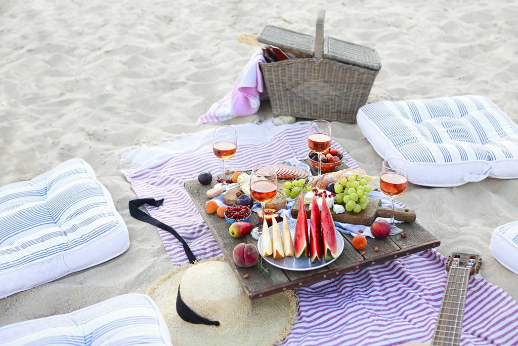 portable beach tables