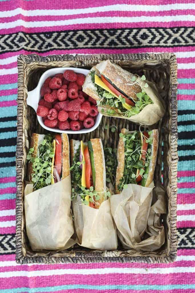 picnic menu food
