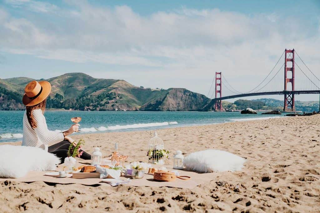 picnic setup location