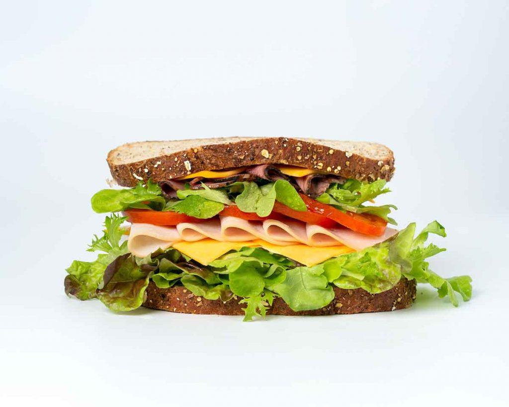 perfect sandwich layering to keep moisture away