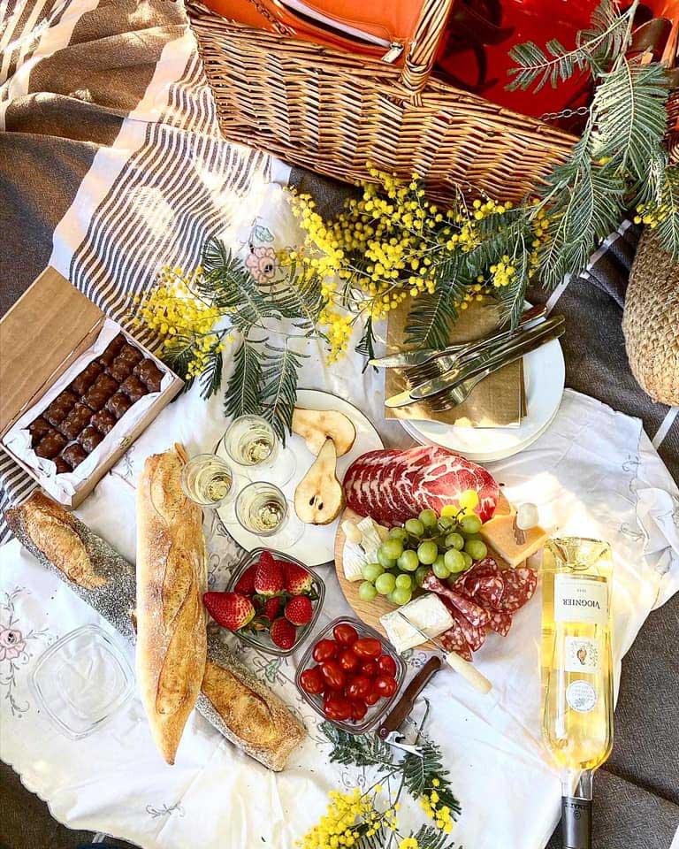french picnic menu