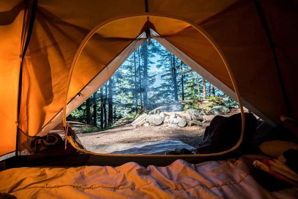 tent setup idea
