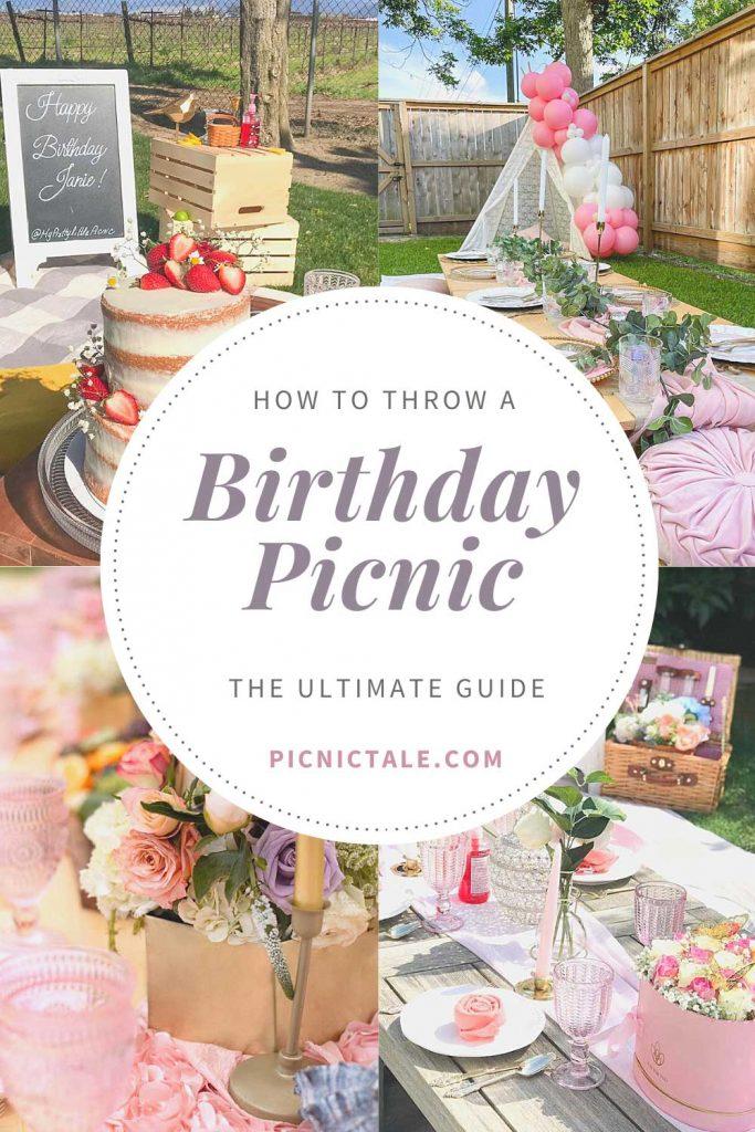 birthday picnic ideas pinterest