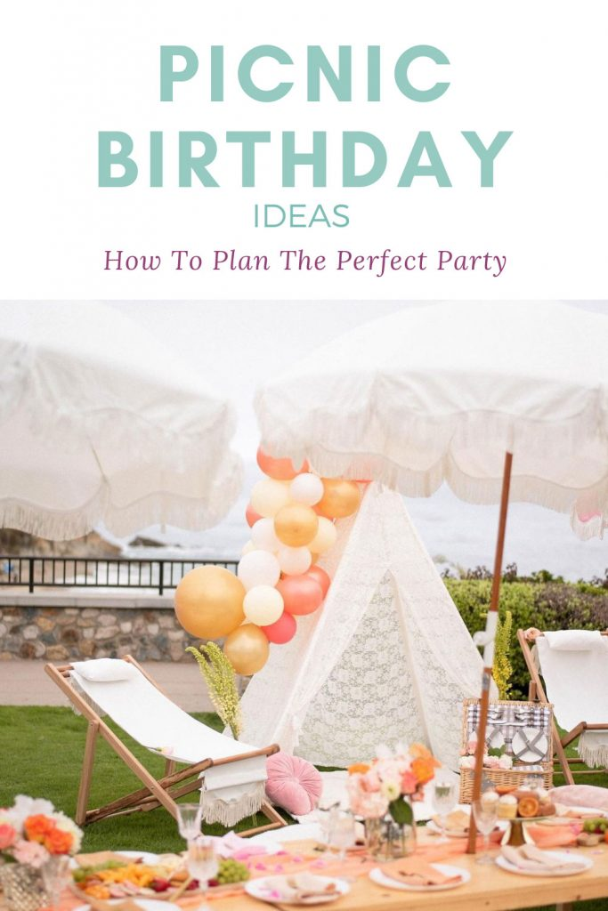 how to throw a birthday picnic